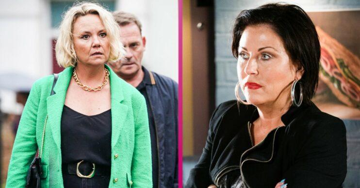 EastEnders spoilers Janine and Kat