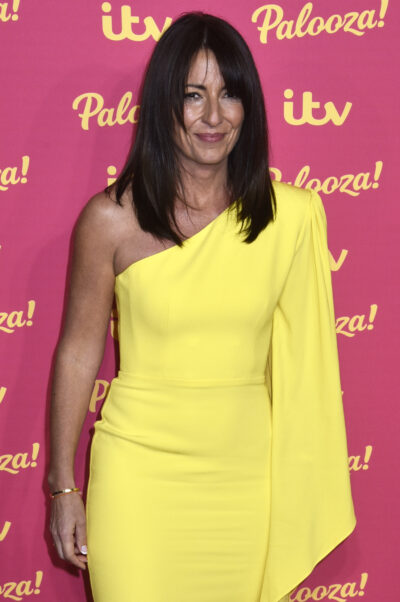 Davina McCall smiles on the red carpet