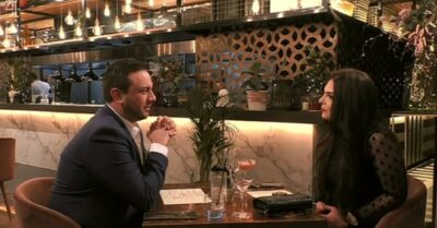 brad and Yasmin on first dates