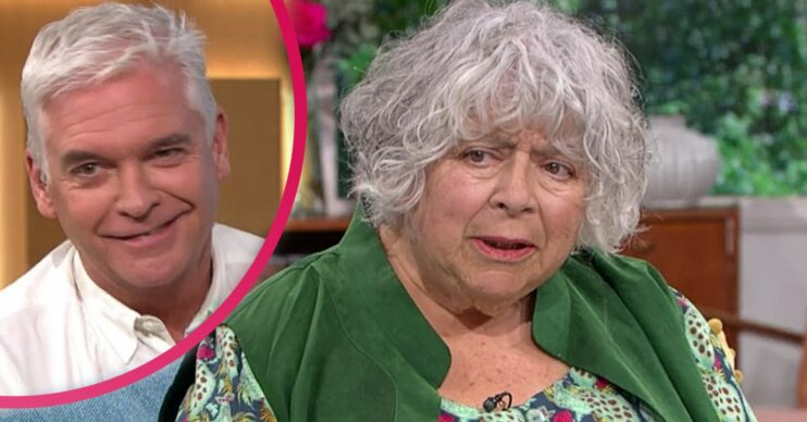 Miriam Margolyes told Phillip Schofield she always knew he was gay