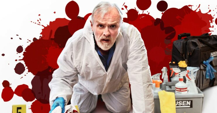Greg Davies stars in The Cleaner on BBC One