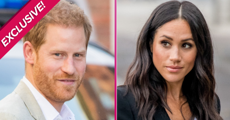 Harry and Meghan out and about