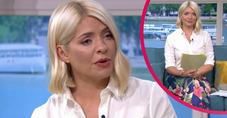 Holly Willoughby skirt today