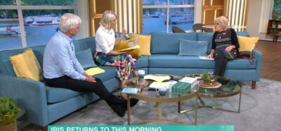 Iris Jones speaks to Phil and Holly on This Morning
