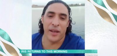 This morning star Mohamed sends video message to Iris