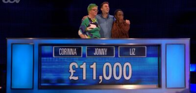 The Chase team beat the Chaser Shaun Wallace