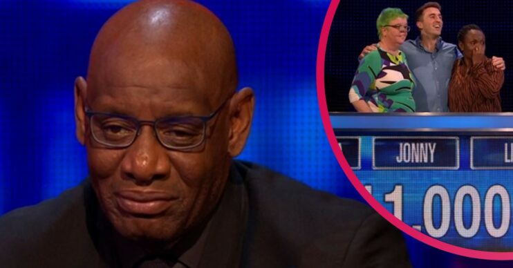 The Chase star Shaun Wallace beaten by team