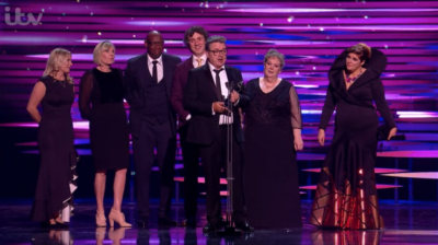 Jenny Ryan at the NTA awrds rocked an unusual outfit