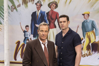 Robson Green and Tom Brittney in Grantchester