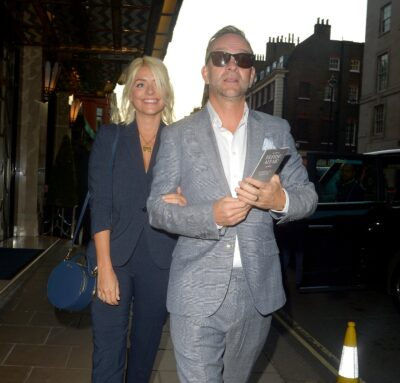 Holly Willoughby and husband Dan