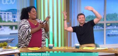 Alison and Dermot dance on This Morning today