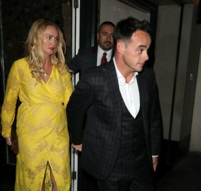 Ant McPartlin wife Anne-Marie out for dinner