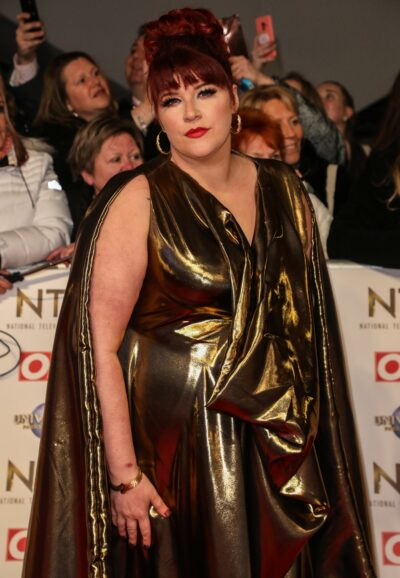 Beat the Chasers star Jenny Ryan poses on red carpet