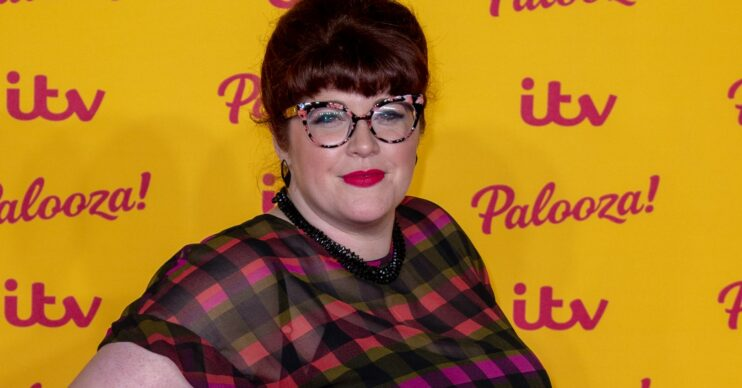 Beat the Chasers star Jenny Ryan poses on the red carpet