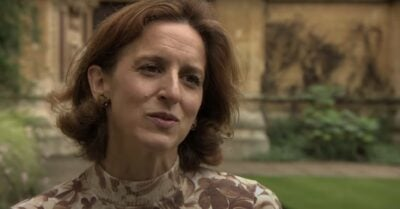 Abigail Thaw as Dorothy Frazil in Endeavour