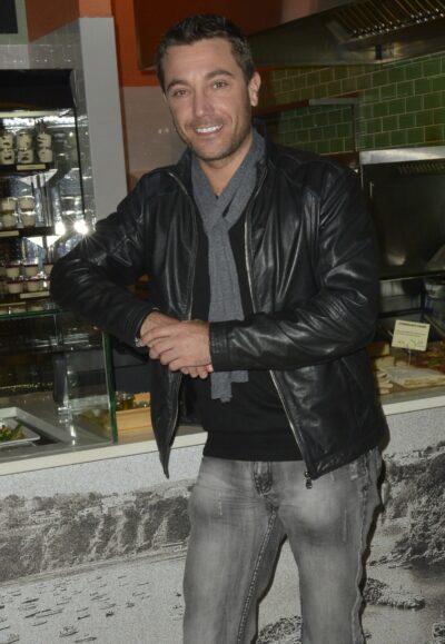 Gino D'Acampo smiles