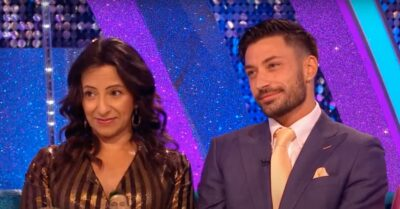 Ranvir Singh was paired with Giovanni Pernice on Strictly Come Dancing