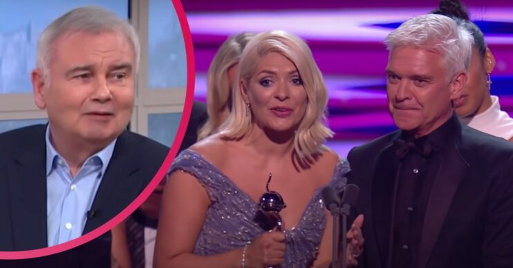 Eamonn Holmes has been liking tweets about the NTAs