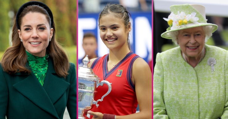 Kate and the Queen congratulate Emma Raducanu on winning US Open