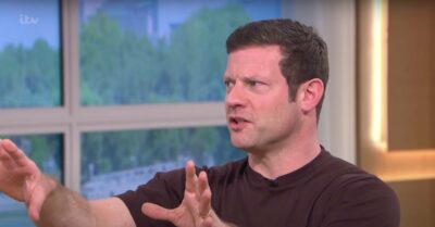 Dermot O'Leary makes his point on This Morning