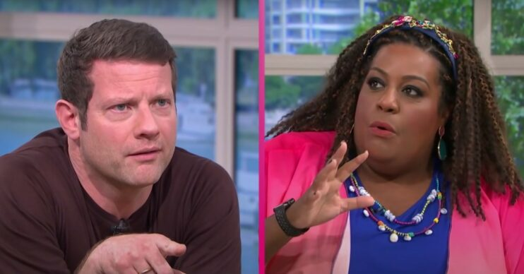 Dermot O'Leary has opened up about his working relationship with Alison Hammond
