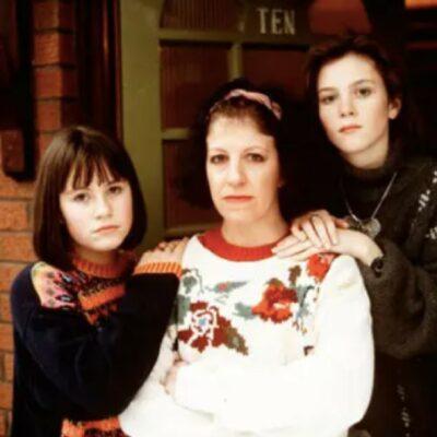 Rachel, Mandy and Beth Jordache in Brookside