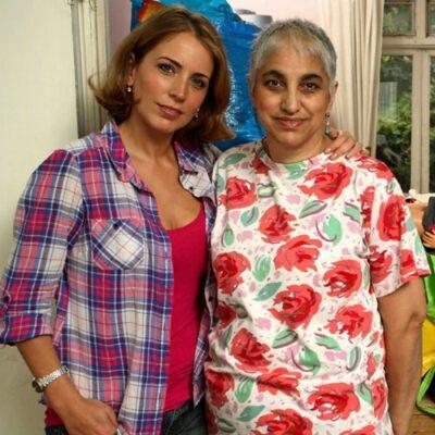 Jasmine Harman and her mum
