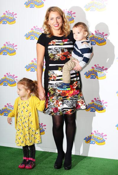 Jasmine Harman and her children