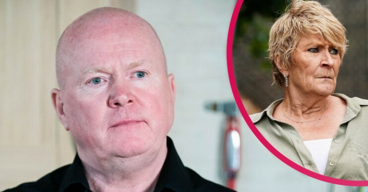 EastEnders Phil and Shirley