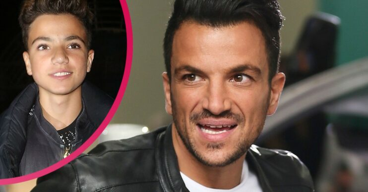 Junior andre age Peter andre son
