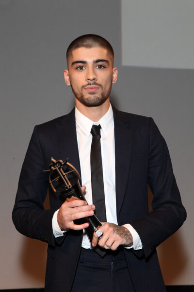 the queen: Zayn hits out