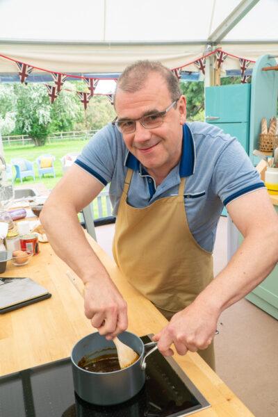 Great British Bake Off contestants - Juergen