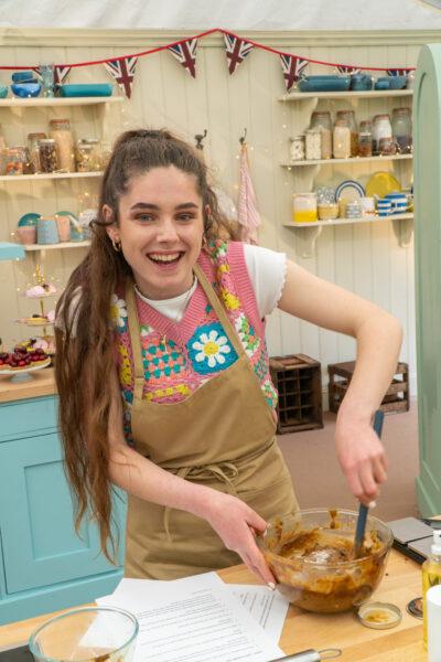 Great British Bake Off contestants - Freya