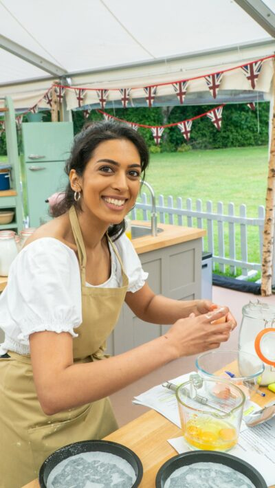 The candidates of the Great British Bake Off - Crystal