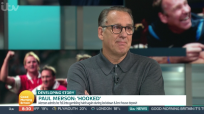 Paul Merson opened up about his gambling addiction on GMB