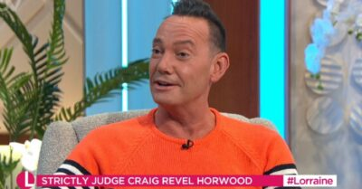 Craig Revel Horwood on Strictly Come DAncing 2021 on Lorraine