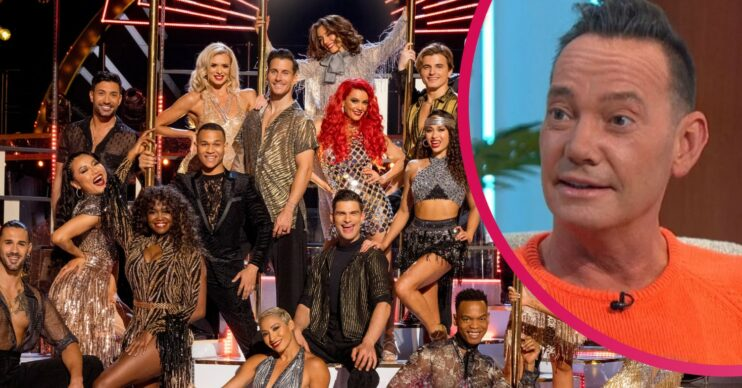 Strictly Come DAncing 2021 pro dancers and Craig Revel Horwood