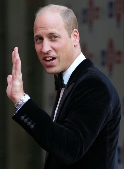 Prince William smiles at Who Cares Wins awards in latest news