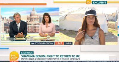Richard Madeley interviews Shamima on GMB