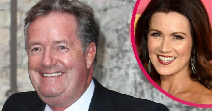 Piers Morgan and Susanna Reid reunite at TRIC AWards 2021