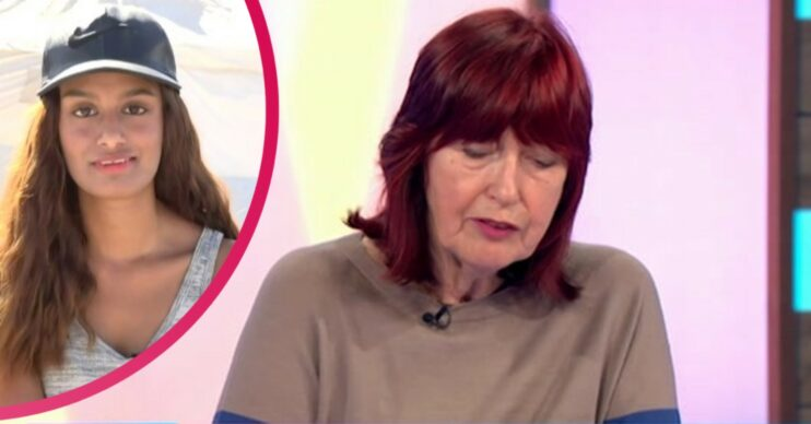 Janet on Loose Women today