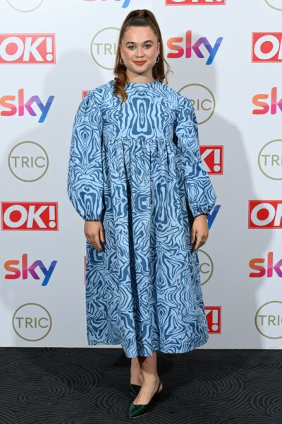 Call the Midwife star Megan Cusack at the TRIC Awards