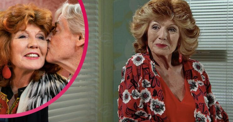 Claudia Colby in Coronation Street