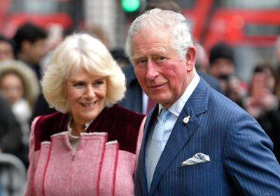 Camilla and Prince Charles during royal outing