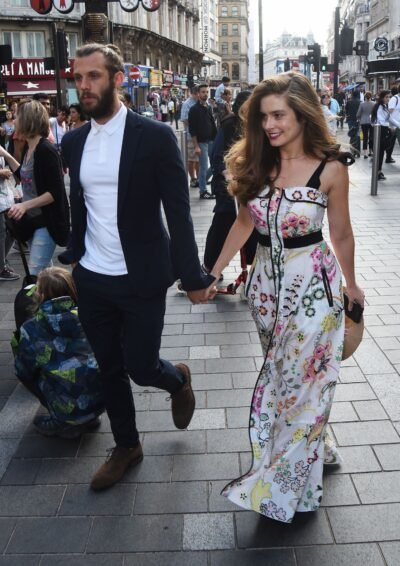 Helen in All Creatures Great and Small - Rachel Shenton with husband Chris