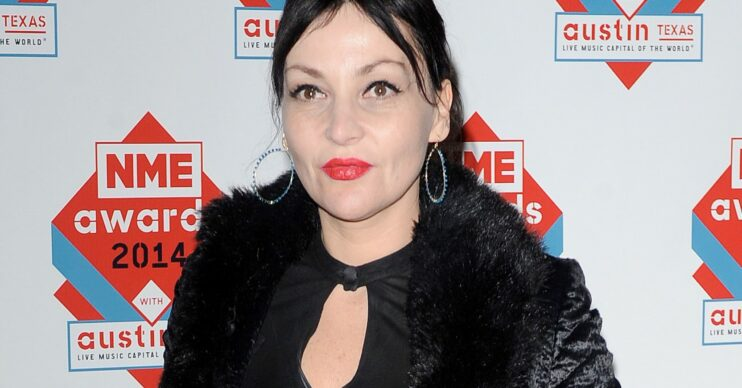 Pearl Lowe during red carpet event