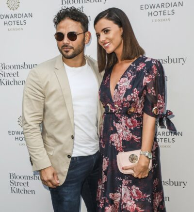 Lucy Mecklenburgh and fiance Ryan Thomas on red carpet