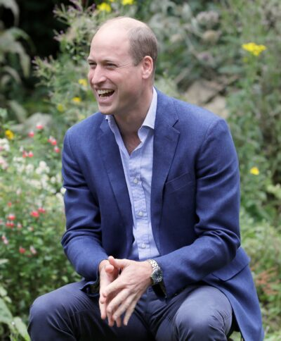 Prince William Visits The Garden House Part Of The Light Project In Peterborough