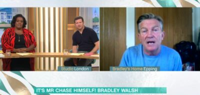 Bradley Walsh speaks with Dermot O'Leary and Alison Hammond on This Morning