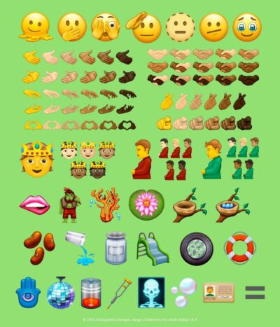 A pregnant man and pregnant person amoji has been approved for use for smartphones